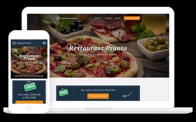 Facebook Online Ordering System for Restaurants